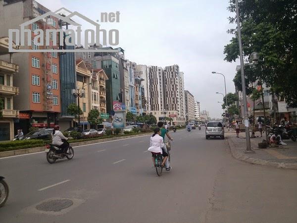 Bán nhà mặt phố Trung Kính đường đôi 103m2x4T MT:10m giá 46tỷ