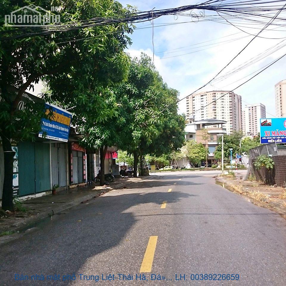 Bán nhà mặt phố Trung Liệt-Thái Hà, Đống Đa 45 m2 giá 9,5tỷ