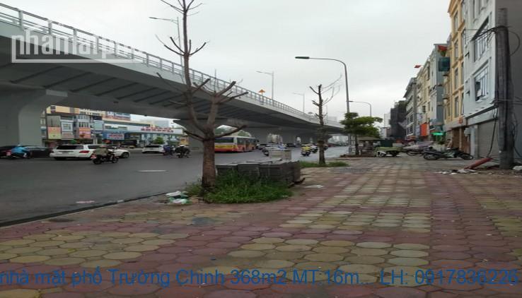 Bán nhà mặt phố Trường Chinh 368m2 MT:16m giá 136tỷ