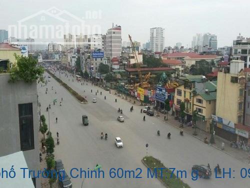 Bán nhà mặt phố Trường Chinh 60m2 MT:7m giá 18tỷ