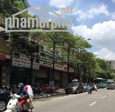 Bán nhà mặt Phố Vũ Phạm Hàm 132m2x5T thang máy giá 46tỷ