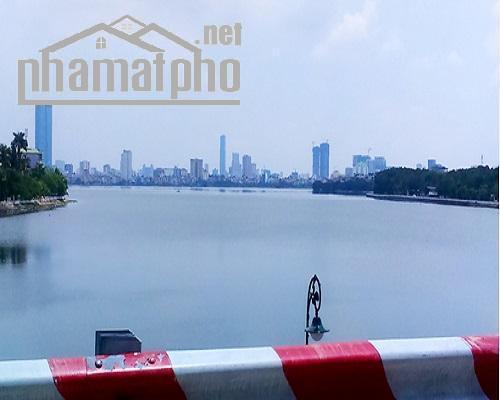 Bán nhà mặt phố Xuân Diệu 200m2x2T MT:7m view Hồ Tây giá 64tỷ