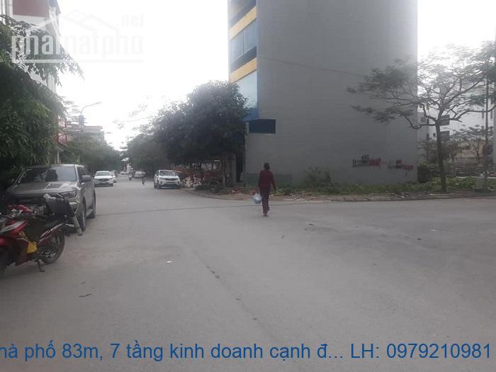 Bán nhà phố 83m, 7 tầng kinh doanh cạnh đô thị Việt Hưng và Vincom
