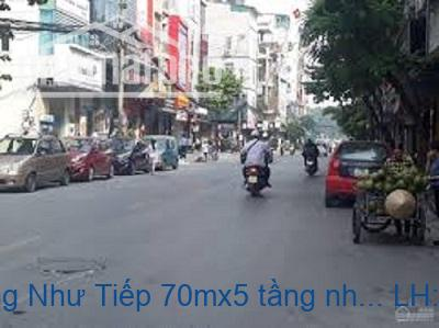 Bán nhà phố Hoàng Như Tiếp 70mx5 tầng nhà đẹp, kinh doanh tốt