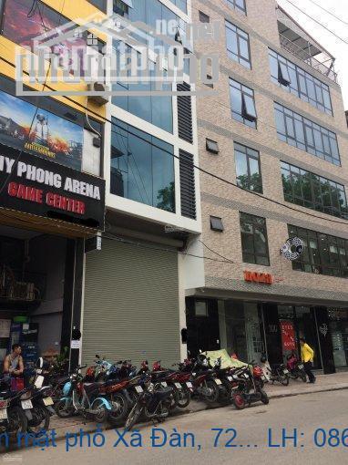 Bán nhà tuyệt phẩm mặt phố Xã Đàn, 72m2 X 7 tầng thang máy, MT 5.5m, 4
