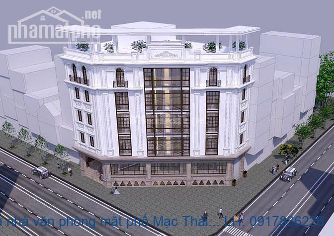 Bán tòa nhà văn phòng mặt phố Mạc Thái Tông căn góc giá 138tỷ
