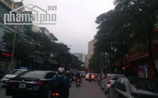 Bán nhà mặt phố Trung Hòa 76m2x6T Mt:5m TN giá 35tỷ