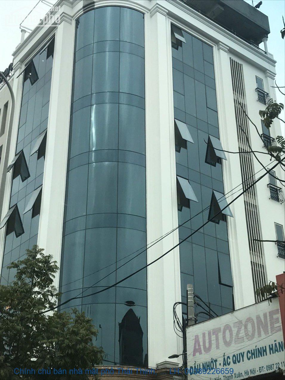 Chính chủ bán nhà mặt phố Thái Thịnh, Đống Đa 130m2 giá 63 tỷ