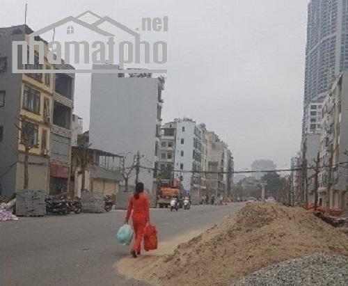 Cho thuê đất mặt phố Trần Đăng Ninh kéo dài 175m2
