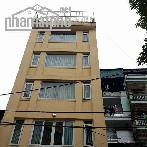 Cho thuê nhà mặt phố Nguyễn Xiển 168m2 mt 7m nhà 8 tầng