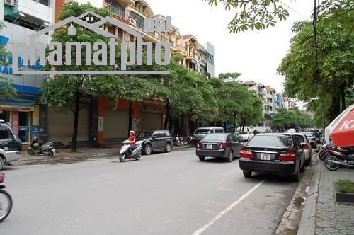 Cho thuê nhà mặt phố Trung Hòa 135m2 mt 5,5m nhà 5 tầng