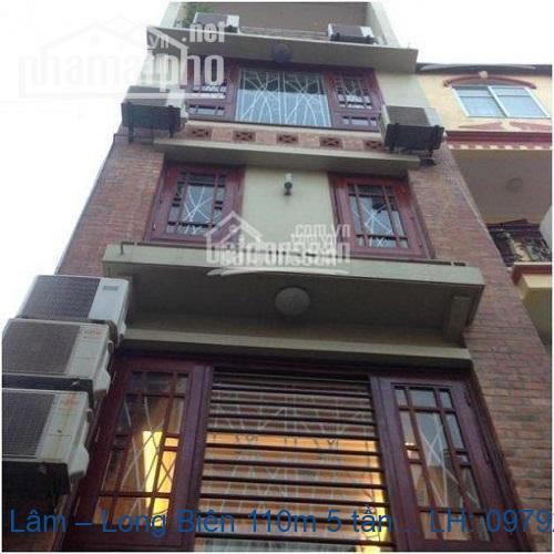 Nhà phố Ngọc Lâm – Long Biên 110m 5 tầng kinh doanh siêu lời