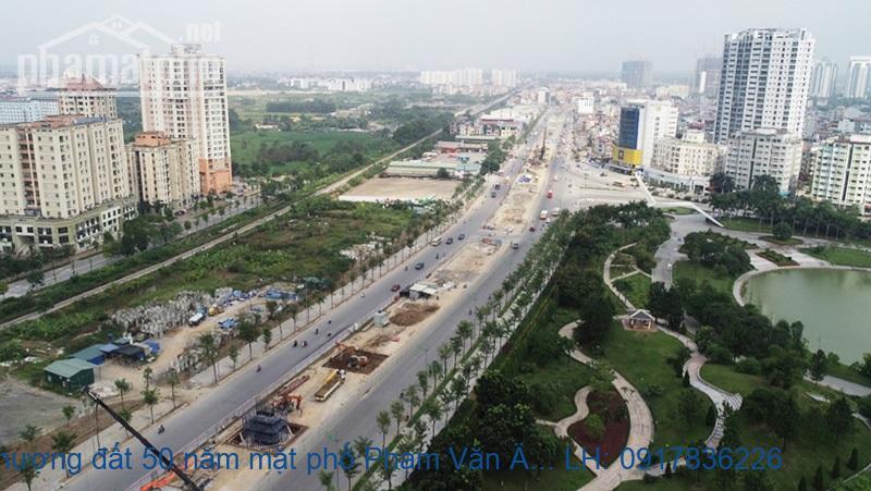 Nhượng đất 50 năm mặt phố Phạm Văn Đồng 1800m2 MT:20m giá 72tỷ